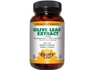 Olive Leaf Extract - Country Life - 60 - VegCap