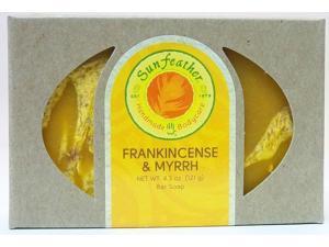 Frankincense & Myrrh Soap - Sunfeather - 4.3 oz - Bar Soap