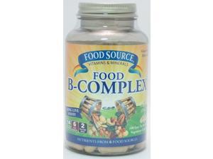 Food Source Food B-Complex - Solaray - 100 - VegCap