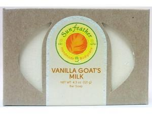 Vanilla Goat's Milk Soap - Sunfeather - 4.3 oz - Bar Soap
