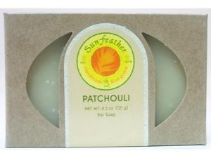 Patchouli Soap - Sunfeather - 4.3 oz - Bar Soap