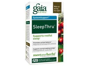 Sleep Thru - Gaia Herbs - 60 - VegCap