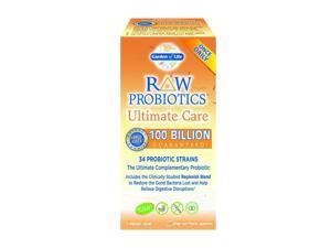 Raw Probiotics Ultimate Care-100 Billion - Garden of Life - 30 - VegCap