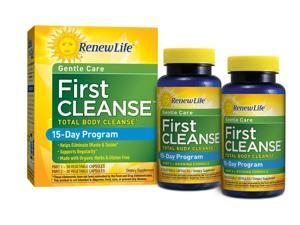 First Cleanse 2 Part Kit - Renew Life - 30/30 Capsules - Kit