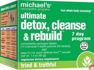 Ultimate Detox, Cleanse & Rebuild  7-Day Program - Michael's Naturopathic - 14 - 4 Tab Packs - Kit