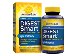 Digest Smart Extra Care (Formerly Critical Care) - Renew Life - 45 - VegCap