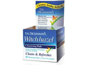 Witch Hazel Daily Cleansing Pads - T.N. Dickinson - 60 - Pad