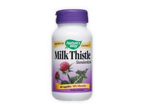 Milk Thistle Standardized Extract - Nature's Way - 60 - Capsule