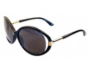 Tom Ford SANDRINE TF124 Sunglasses in color code 01A