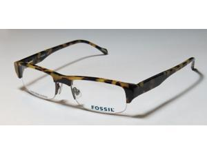 Fossil ELLIOT Eyeglasses in color code 4GX in size:53/18/140