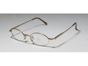 Paolo Gucci 7436R Eyeglasses in color code MATTEGOLD in size:47/20/140