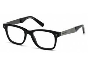 Dsquared 5130 Eyeglasses in color code 001 in size:49/18/145