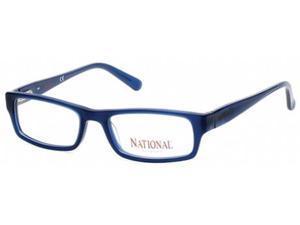 National 0345 Eyeglasses in color code 091 in size:53/18/140