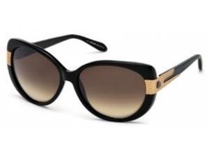 Roberto Cavalli FESDU 745S Sunglasses in color code 01G