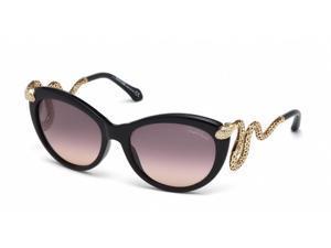 Roberto Cavalli MENKAB 889S Sunglasses in color code 01B
