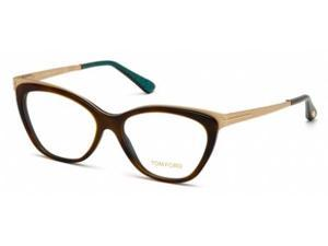 Tom Ford 5374 Eyeglasses in color code 052 in size:54/15/135
