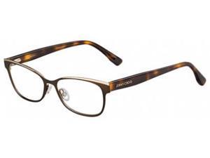 Jimmy Choo 147 Eyeglasses in color code PWZ in size:52/15/145