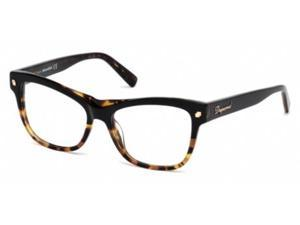 Dsquared 5196 Eyeglasses in color code 005 in size:54/16/140