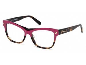 Dsquared 5196 Eyeglasses in color code 074 in size:54/16/140