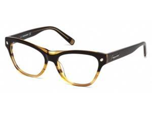 Dsquared 5197 Eyeglasses in color code 005 in size:54/16/140