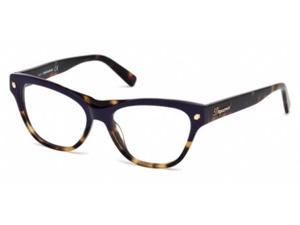 Dsquared 5197 Eyeglasses in color code 074 in size:54/16/140