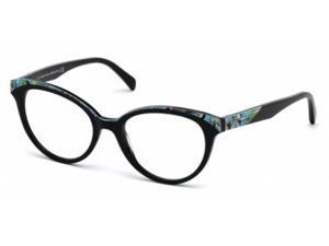 Emilio Pucci 5035 Eyeglasses in color code 001 in size:53/18/140