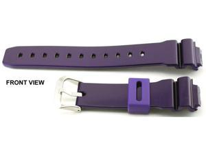 Casio #10332044 Genuine Factory Replacement Band for Colorful G Shocks - DW6900CC-6V (Purple)