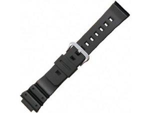 Casio 16mm Black Resin Genuine Replacement Strap (4349)