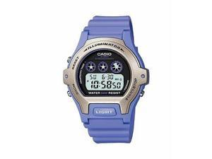 Casio #LW202H-6AV Women's Purple Resin Strap Chronograph Alarm Sports Watch