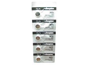 Energizer Battery 387S Silver Oxide 1.55V (5 Batteries Per Pack)