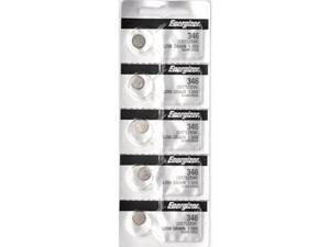 Energizer Battery 346 (SR712SW) Silver Oxide 1.55V (5 Batteries Per Pack)