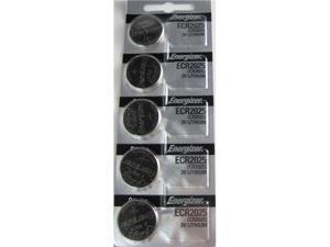 Energizer Battery CR2025 Lithium 3V (5 Batteries Per Pack)