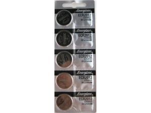 Energizer Batteries CR2012 Lithium 3V (5 Batteries Per Pack)