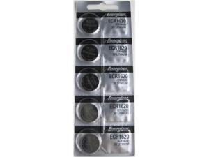 Energizer Battery 1620 (CR1620) Lithium 3V (5 Batteries Per Pack)