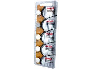 Maxell Battery 391 SR1120W Silver Oxide 1.55V (5 Batteries Per Pack)