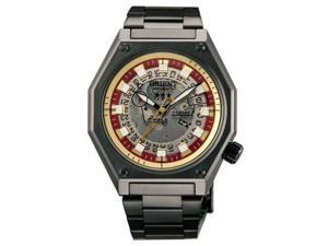 Orient #WV0331ER Men's Comtempo Transparent Crystal Gunetal Automatic Watch