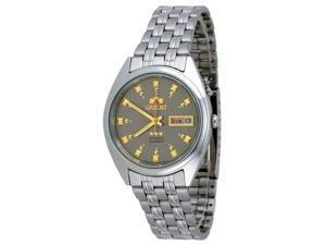 Orient #FEM0401NK Men's Tri Star Gray Dial Standard Self Winding Automatic Watch
