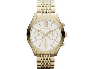Michael Kors #MK5762 Women's Brookton Golden Stainless Steel Chronograph Watch