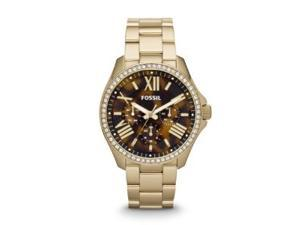 FOSSIL #AM4498 Cecile Multifunction Stainless Steel Watch
