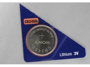 Sony CR2450 Lithium Battery 3V  (1 Battery Per Pack)