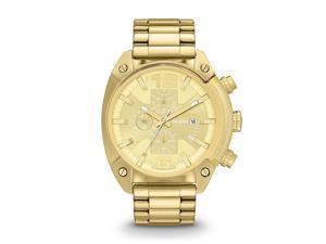 Diesel #DZ4299 Mens Chronograph Gold-Tone Stainless Steel Watch
