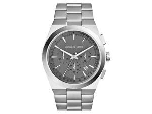 Michael Kors MK8337 Men's Channing Stainless Steel Grey Dial Chronograph Watch