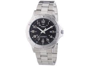 Timex T2P391 Mens Classic Silver Steel Bracelet Watch