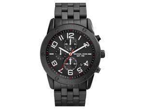 Michael Kors MK8350 Men's Mercer Black IP Stainless Steel Chronograph Watch