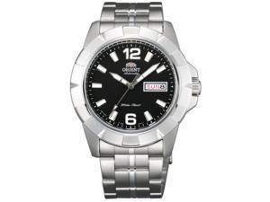 Orient FEM7L004B Men's Anchor Black Dial Day/Date Automatic Sports Watch