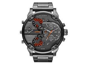 Diesel DZ7315 Men's Mr Daddy 2.0 Gunmetal Quad 4 Time Zone Chronograph Watch