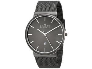 Skagen Men's SKW6108 Ancher Quartz 3 Hand Date Stainless Steel Gray Watch