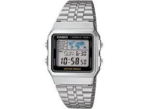 Casio Men's A500WA-1ACF Classic Digital Display Quartz Silver Watch