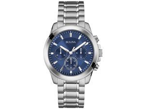 Bulova-96A178-Mens-Stainless-Steel-Blue-Dial-Chronograph-Watch Bulova-96A178-Mens-Stainless-Steel-Blue-Dial-Chronograph-Watch