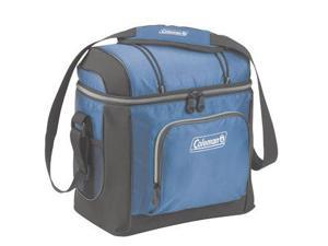 Coleman 16 Can Soft Cooler - Blue 16 Can Soft Cooler with Liner - Blue